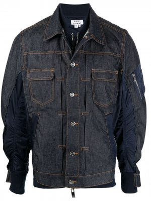 Джинсовая куртка A.P.C.. Цвет: синий