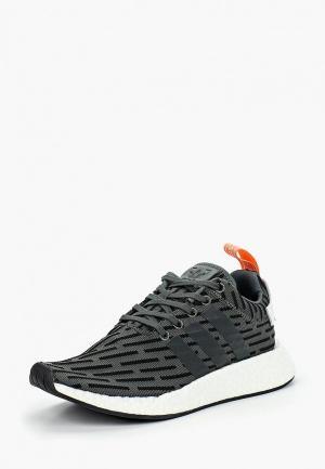 Кроссовки adidas Originals NMD_R2. Цвет: серый