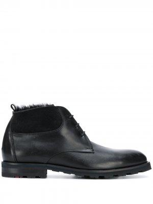 Ботинки на шнуровке Lloyd. Цвет: черный