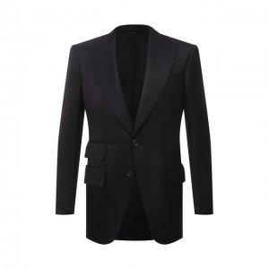 Пиджак из вискозы Tom Ford. Цвет: чёрный