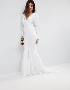 Свадебное платье -Белый ASOS EDITION