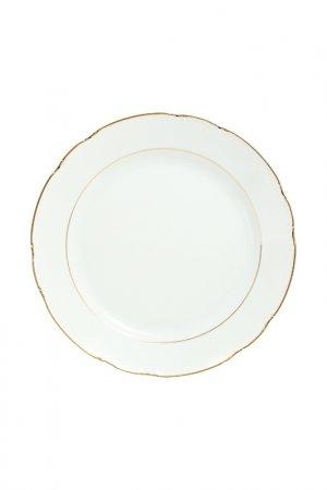 Блюдо THUN. Цвет: белый, золотой