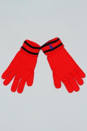 Перчатки Ralph Lauren. Цвет: красный