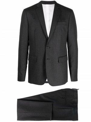 Костюм-двойка с однобортным пиджаком Dsquared2. Цвет: серый
