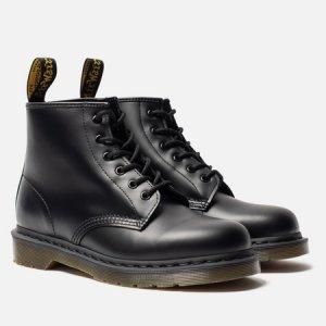 Ботинки 101 Smooth Dr. Martens. Цвет: чёрный