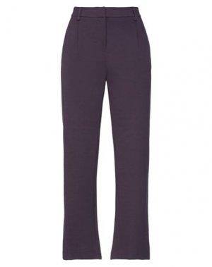 Повседневные брюки HENRY COTTON'S. Цвет: баклажанный