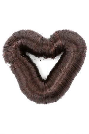 Валик для волос Diva. Цвет: коричневый