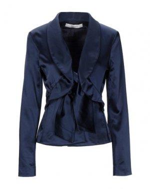 Пиджак X'S MILANO. Цвет: темно-синий