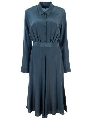Шелковое платье TEREKHOV