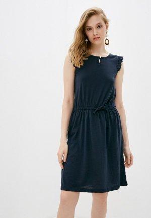 Платье Blue Seven. Цвет: синий