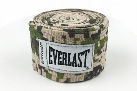 Бинты 3,5 м, 2 шт. Everlast. Цвет: зеленый