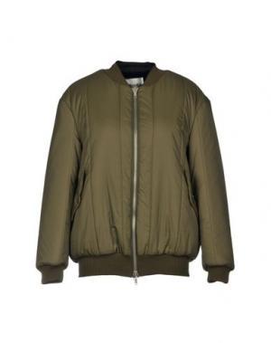 Куртка SUOLI. Цвет: зеленый-милитари