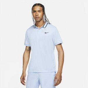 Мужская теннисная рубашка-поло Court Dri-FIT Victory - Синий Nike