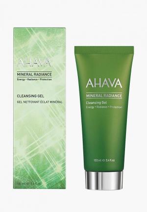 Гель для умывания Ahava Mineral Radiance очистки кожи и придания ей сияния. 100 мл. Цвет: прозрачный
