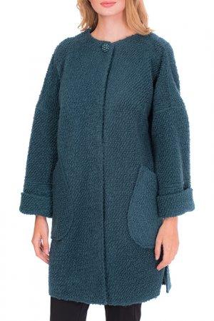 Пальто Argent. Цвет: изумрудный