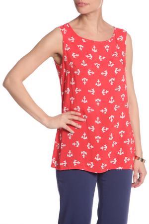 Блуза YARMINA. Цвет: красный
