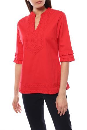 Блуза Almatrichi. Цвет: красный