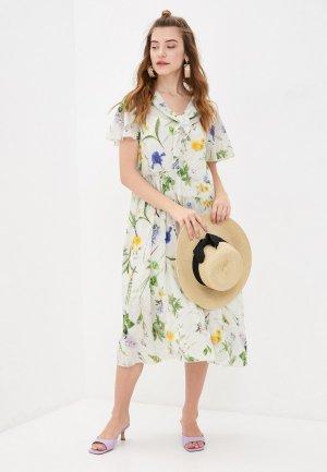 Платье Bulmer. Цвет: зеленый