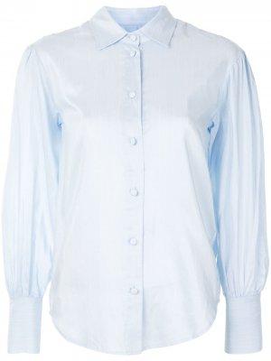 Рубашка на пуговицах Designers Remix. Цвет: синий