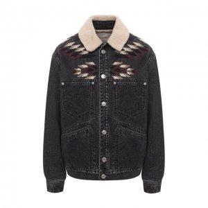 Джинсовая куртка Isabel Marant Etoile. Цвет: серый