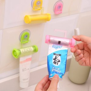 Соковыжималка для зубных паст 1шт SHEIN. Цвет: многоцветный