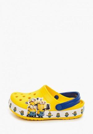 Сабо Crocs CrocsFL Minions Multi Clg K. Цвет: желтый