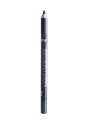 Карандаш для глаз Seventeen водостойкий т.15  Super Smooth W/P&Longstay темно серо-синий. Цвет: синий