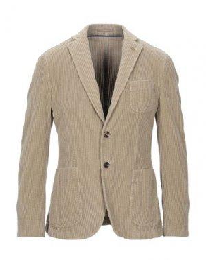 Пиджак PAOLONI. Цвет: хаки