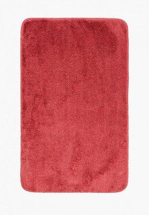 Коврик для ванной Wasserkraft 45х75. Цвет: бордовый