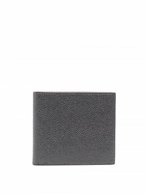 Бумажник с полосками RWB Thom Browne. Цвет: серый