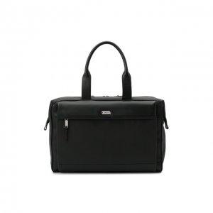 Дорожная сумка Volkwin Bally. Цвет: чёрный