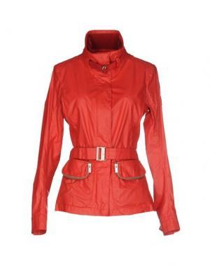 Легкое пальто HOGAN. Цвет: красный