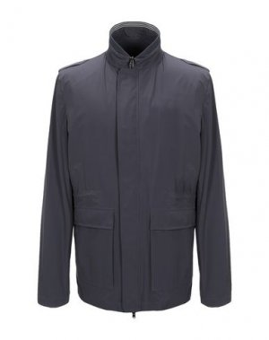 Куртка HERNO. Цвет: свинцово-серый