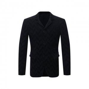 Пиджак Giorgio Armani. Цвет: синий