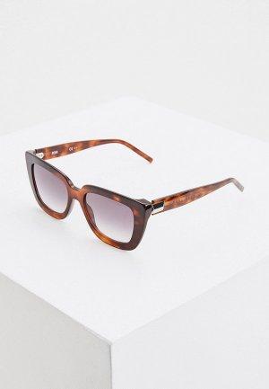 Очки солнцезащитные Boss 1154/S 086. Цвет: коричневый