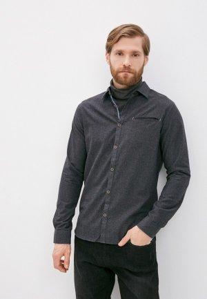 Рубашка Indicode Jeans Stefan. Цвет: серый