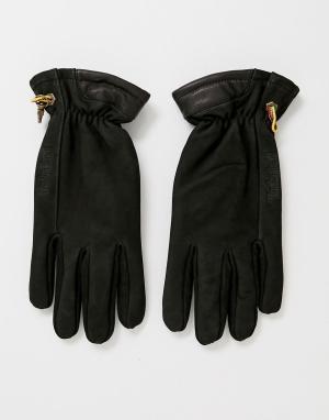 Черные перчатки seabrook Timberland. Цвет: черный