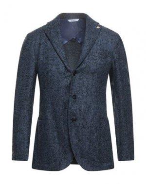 Пиджак GI CAPRI. Цвет: синий