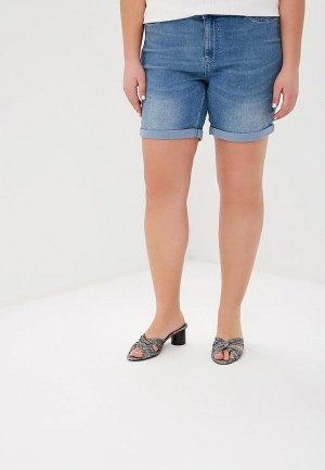 Шорты джинсовые Junarose. Цвет: разноцветный