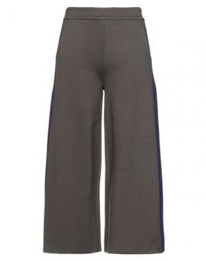 Повседневные брюки ANNARITA N TWENTY 4H. Цвет: хаки