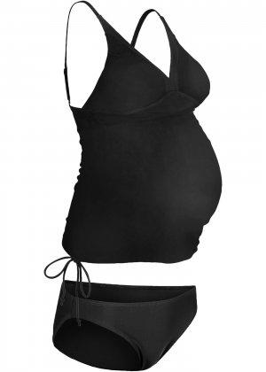 Купальник-танкини для беременных (2 изд.) bonprix. Цвет: черный