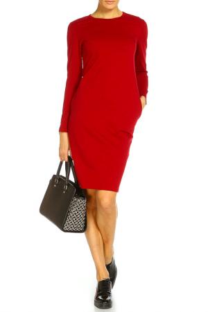Платье Rocawear. Цвет: бордовый