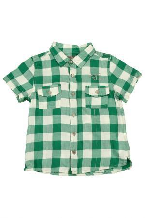Рубашка JEAN BOURGET. Цвет: зеленый
