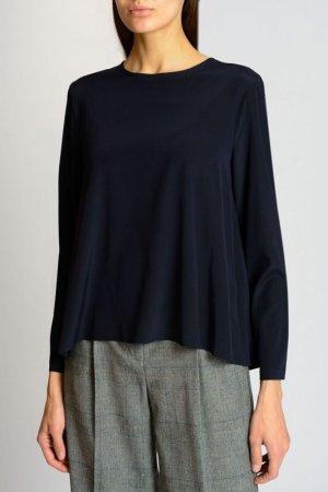 Блузка CAPPELLINI. Цвет: синий