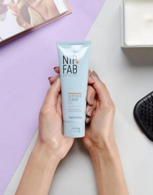 Гликолевый скраб NIP+FAB-Бесцветный Nip+Fab