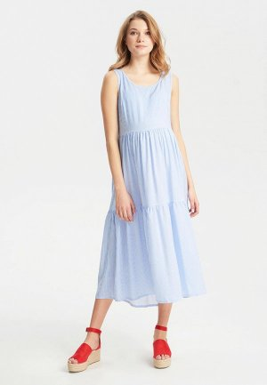 Платье BuduMamoy. Цвет: голубой