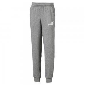 Детские штаны Amplified Sweat Pants PUMA. Цвет: серый