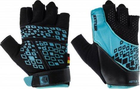 Перчатки для фитнеса , размер 7 Kettler. Цвет: голубой