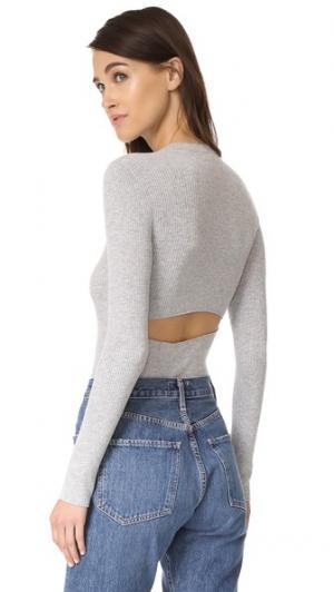 Пуловер Casia 360 SWEATER. Цвет: серый меланж