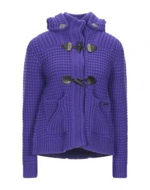 Пальто BARK. Цвет: фиолетовый